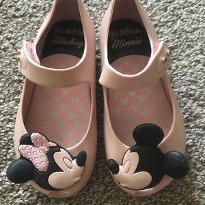 Mini Melissa mini mouse shoes girl size 8